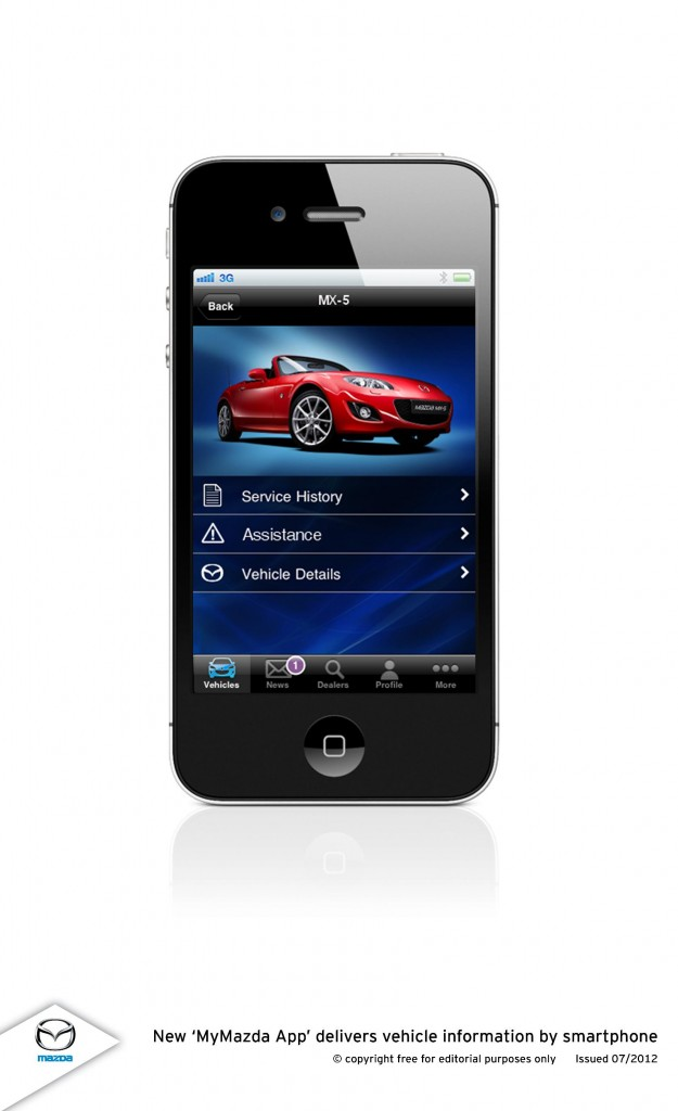 My Mazda App >> New Mymazda App Delivers Vehicle Information By Smartphone