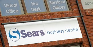 Sears Business Centre sign